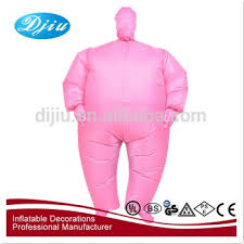 Fat Suit Halloween Costume Halloween Costume Customized Funny Sumo Inflatable Fat
