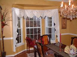 Bay Window Valance Decorations Bay Window Curtain Corner Curtain Rod 7 Bay Window