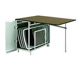 meuble bureau fermé avec tablette rabattable meuble avec table rabattable cuisine table escamotable meuble