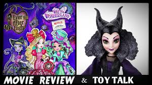 disney original halloween movies ever after high way too wonderland movie review u0026 disney