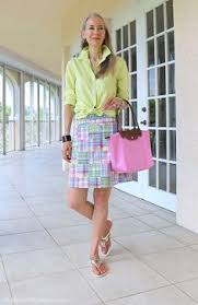 preppy for women over 50 classic fashion over 50 talbots splitneck top longch tote janis