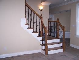 Remodeling Basement Stairs stair railings and half walls ideas basement masters