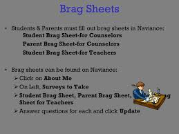Guidance Counselor Brag Sheet Jump Start Shawnee High May 5 Ppt