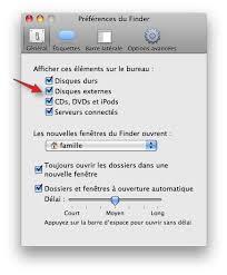 afficher disque dur bureau mac disque dur externe format windows sur osx les forums de