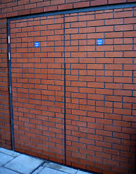 Glass Fire Doors by Brick Clad Steel Fire Doors Accenthansen Provide Brick Cla U2026 Flickr
