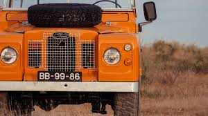 land rover orange this vintage land rover series 2a is as good as it gets airows