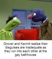 Sesame Street Memes - grover and kermit sesame street know your meme