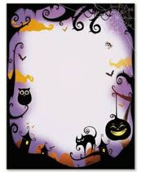 halloween frames and borders trick or treat