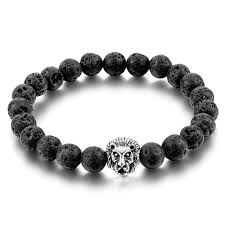 mens bracelet handmade images Natural stone lion bracelet handmade beads ethnic mens jewelry jpg