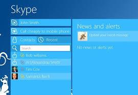 skype bureau windows 8 skype pour windows 8 prend désormais en charge le transfert de