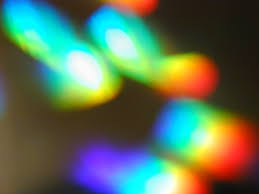 glowing rainbow spots free backgrounds and textures cr103