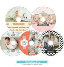 cd dvd label photoshop template es002 instant by paperlarkdesigns