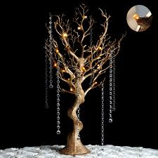 30 manzanita tree with led lights wedding centerpiece choose