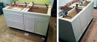 kitchen island from cabinets installing kitchen island kitchen island from base cabinets image