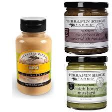 gourmet mustard gourmet spicy mustard combo pack by terrapin ridge wasabi