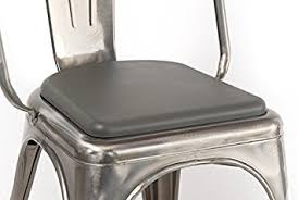 Metal Bar Chairs Amazon Com Rounded Seat Cushion For Metal Bar Stools Or Kitchen