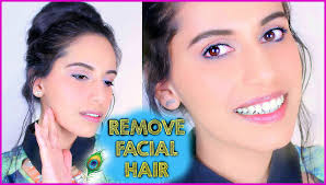 stop womens chin hair growth diy how to remove facial hair naturally at home himani wright