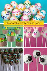 easter cakepops 15 adorable easter cake pops baking smarter