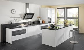 cuisine ikea blanc ikea cuisine toulouse dcoration cuisine blanche carrelage gris