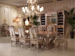 luxury dining table marquetry work