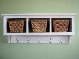 hanging coat rack with storage u2013 drmarkmcbath info
