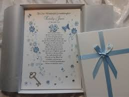 daughter 18th 21st birthday card personalised handmade keepsake