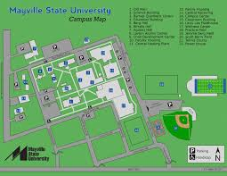 State Fair Map Campus Map Mayville State University Mayville Nd