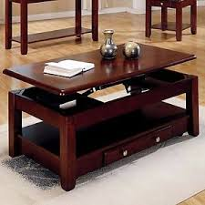 Computer Desk With Storage Space Cherry Wood Lift Top Coffee Table Computer Desk Storage Space