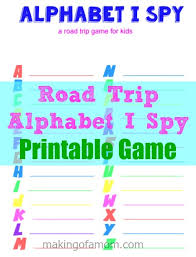 printable alphabet i spy road trip game making of a mom