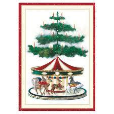 boxed christmas cards christmas carousel small boxed christmas cards 16 cards 16