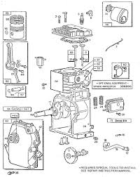 briggs u0026 stratton 3 h p tiller engine parts model 080202230501