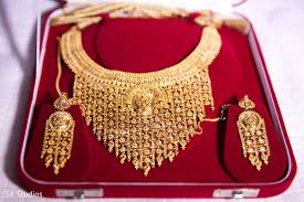 wedding gold set bridal jewelry in woodbury ny indian wedding by sx studios