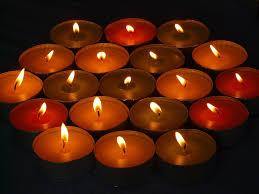 free photo tealight candle tea lights candles heat light max