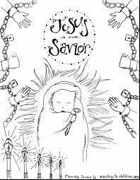 beautiful jesus savior coloring pages baby jesus coloring