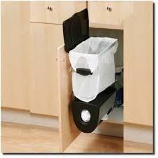simplehuman in cabinet trash can simplehuman cabinet mounted trash can system kitchen cardboard bin