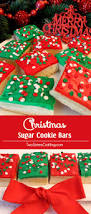 christmas sugar cookie bars two sisters crafting