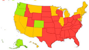 Where Is Alaska On A Map by Here U0027s A Map Of Every State And Their Marijuana Laws