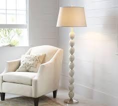 Mosaic Floor Lamp Jolie Mother Of Pearl Floor Lamp Base Pottery Barn
