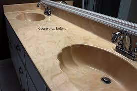 refinish bathroom sink top extraordinary bathtub refinishing ceramic tile countertop in