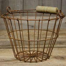 egg baskets wire egg basket ebay