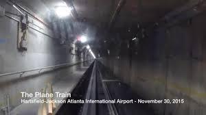 Hartsfield Jackson Atlanta International Airport Map by The Plane Train At Hartsfield Jackson Atlanta International