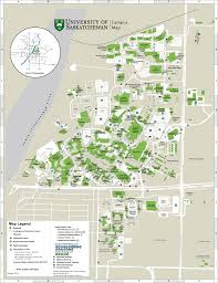 Bc Campus Map Maps University Of Saskatchewan