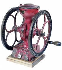 Cast Iron Coffee Grinder Coles Mfg Co Small Coffee Grinder