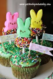 Easter Cupcake Decorating With Peeps by 31 Easter Cakes And Dessert Recipes Tip Junkie