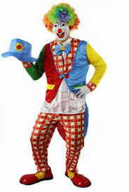 Mens Clown Halloween Costumes Free Shipping Funny Professional Halloween Clown Clothes Cosplay