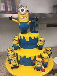 minion birthday cake ideas minions birthday cake palermo s custom cakes bakery