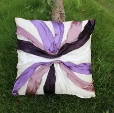 Purple Sofa Pillows by Aliexpress Com Buy Vezo Home Handmade Red Sofa Chair Seat Satin