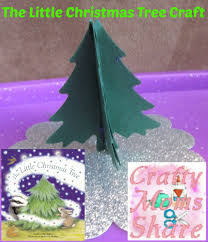 crafty moms share the little christmas tree book review u0026 craft