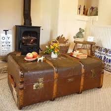 vintage trunk coffee table phenomenal suitcase coffee table fine decoration vintage steamer