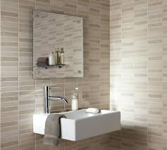 idea for small bathroom wall ideas natural small bathroom design with large tiles